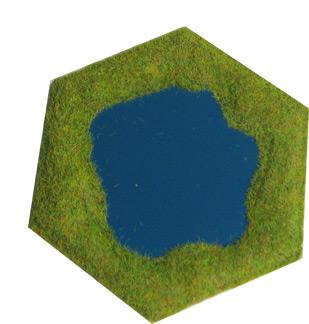 Single hex lake