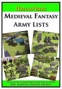 Hordes & Heroes Medieval Fantasy Army Lists