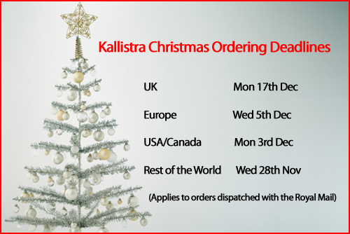 Christmas Ordering Deadlines 2012