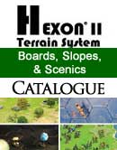 Hexon Boards, Slopes and Scenics catalogue