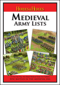 Hordes and Heroes Medieval Army Lists