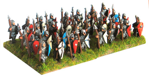 Armoured Spearmen - Standing H-5001