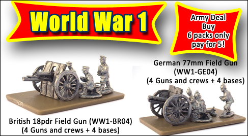 More WW1 additions to the range