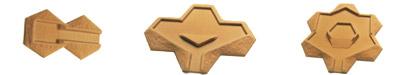 Flocked Desert 10-15mm  Strongpoints