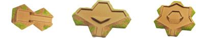 Flocked  Desert Transition 10-15mm  Strongpoints