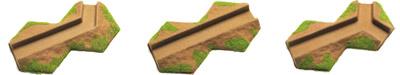 Flocked Desert Transition 10-15mm Trenches