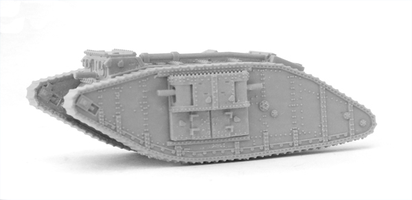 New WW1 British MarkIV Female Tank