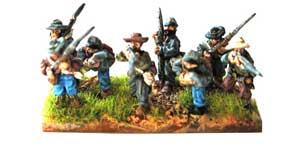 Kallistra's ACW Range - Figures painted by Chris Horsfield