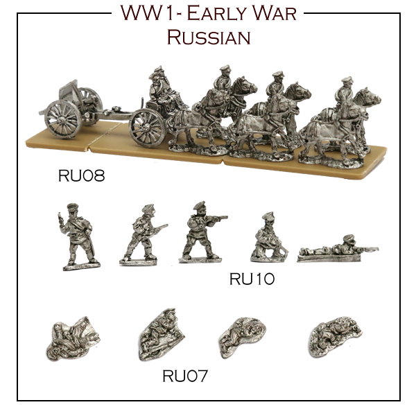 New Russian additions tot he WW1 Range