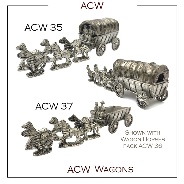 ACW 35 Covered Wagons - available soon!