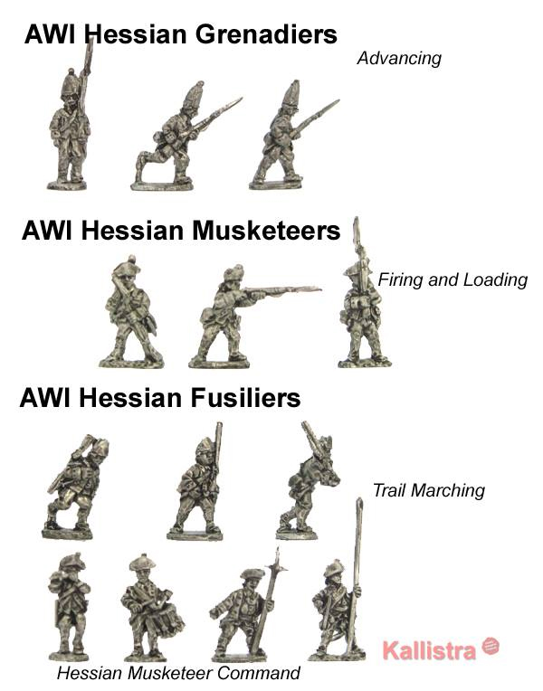 New AWI Hessians