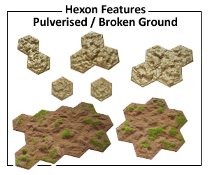 Click here for Pulverised broken ground
