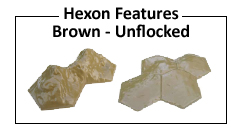 Brown Hexon Features