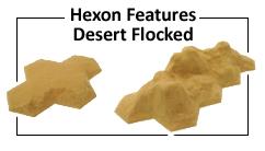 Desert Flocked Terrain Features