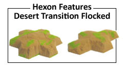 Desert Transition Flocked Terrain Features