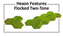 Hexon Features Flocked