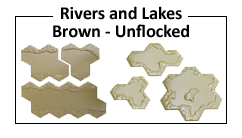 Brown River and Lake Features