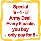 6 for 5 Army Deal