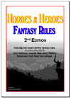 Hordes and Heroes Fantasy Rules. 2nd Edition