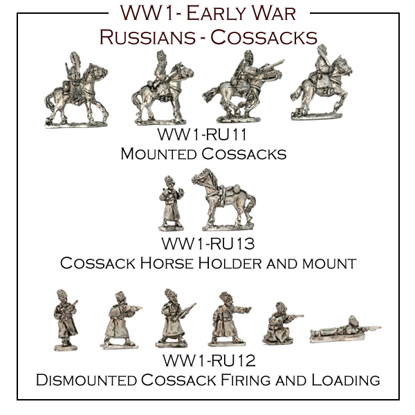 New Cossacks now available