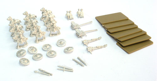 ACW 29 Confederate Limber, Team and Guns Pack contents