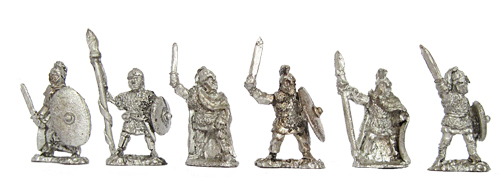 Romano British Armoured Infantry Singles (810)