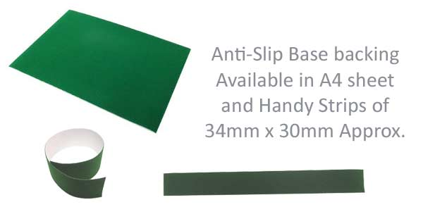 Anti-slip base backing