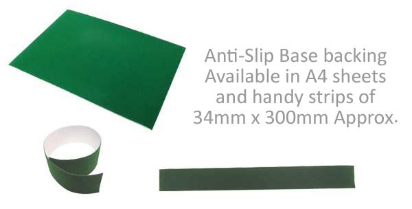Anti-slip base backing