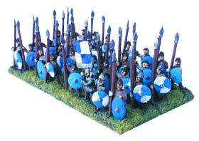 Romano British Spearmen H-801