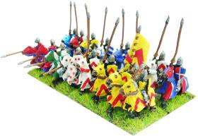 HYW Mounted Men-at-Arms H-904