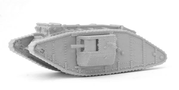 The New Addition to the WW1 Range - MkIV Male tank