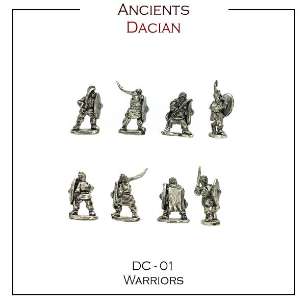 Dacian Warriors DC - 01
