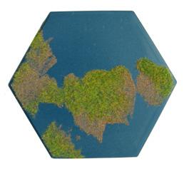 Single swamp hex