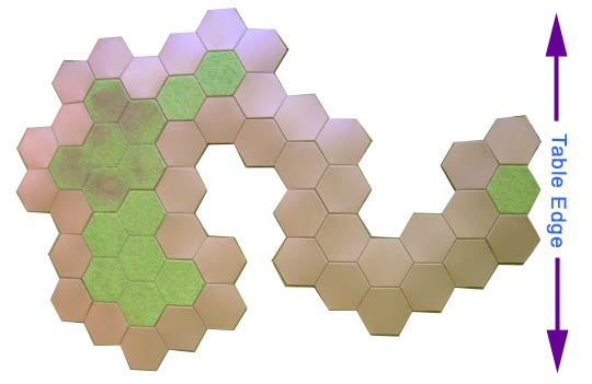 large 55 hex hill