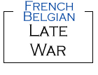 French - Belgian Late War from Kallistra