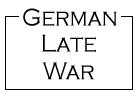 German Late War from Kallistra