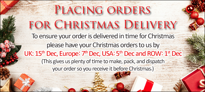 Christmas ordering details